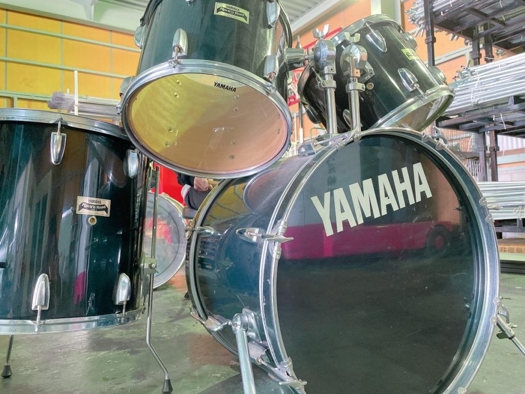 ドラムセット 使用風景